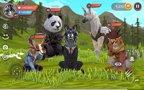 WildCraft: Animal Sim Online 3D  Apk Download For Android and Iphone 4