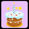 Birthday Party photo Stickers