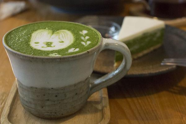 六丁目cafe:民生社區裡的小巧日式空間,療育人心的咖啡與抹茶道