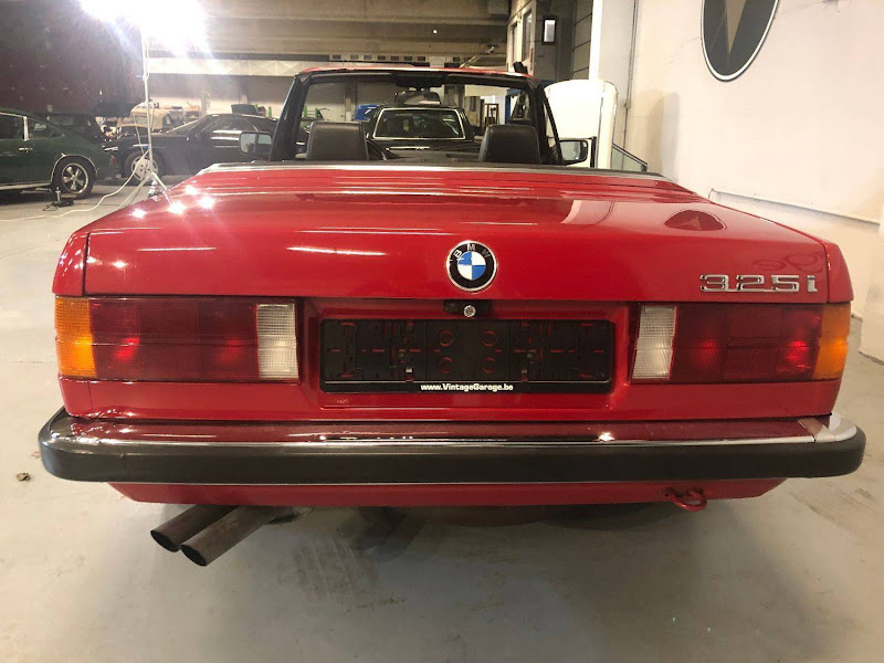 BMW 325i Cabrio - 1986