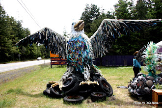 Photo: (Year 2) Day 354 - Sculptures from Sea Debris #2