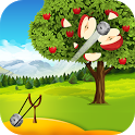 Apple Shooter : Slingshot Knockdown Shooting Games icon