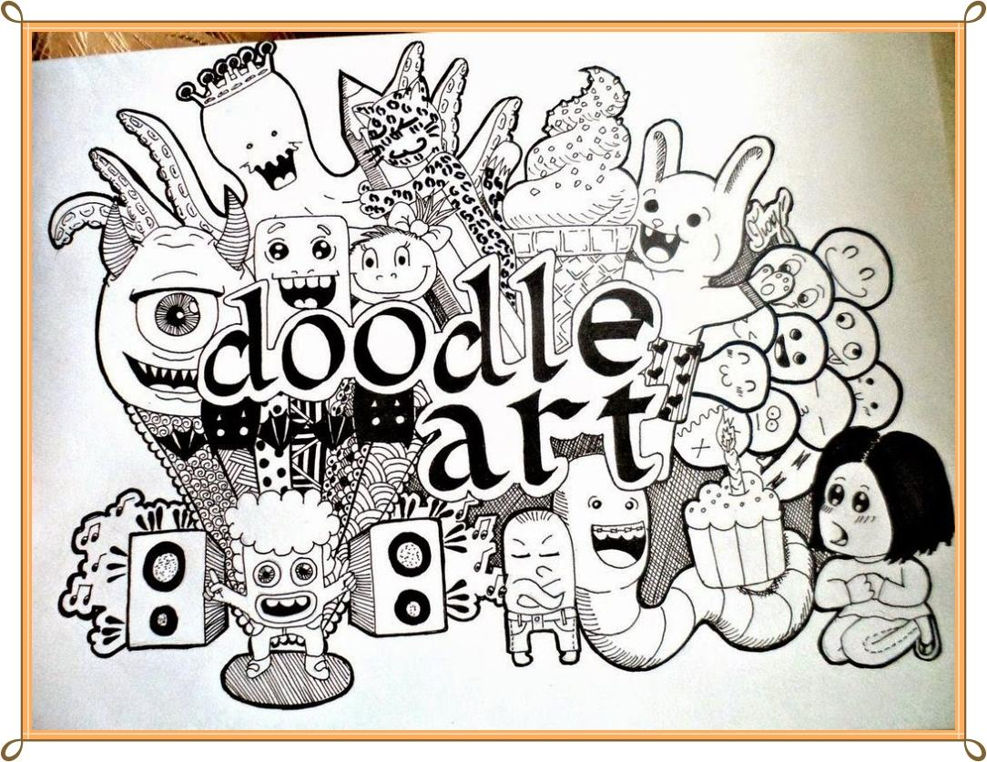 doodle art design ideas screenshot - Art Design Ideas