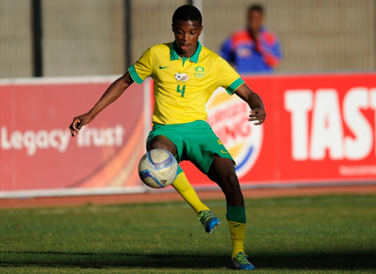 Teboho Mokoena during round 3 of the U/20 CAF African Youth Championships qualifiers, 2nd leg match between South Africa and Lesotho at Dr Petrus Molemela stadium on July 23, 2016 in Bloemfontien, South Africa.