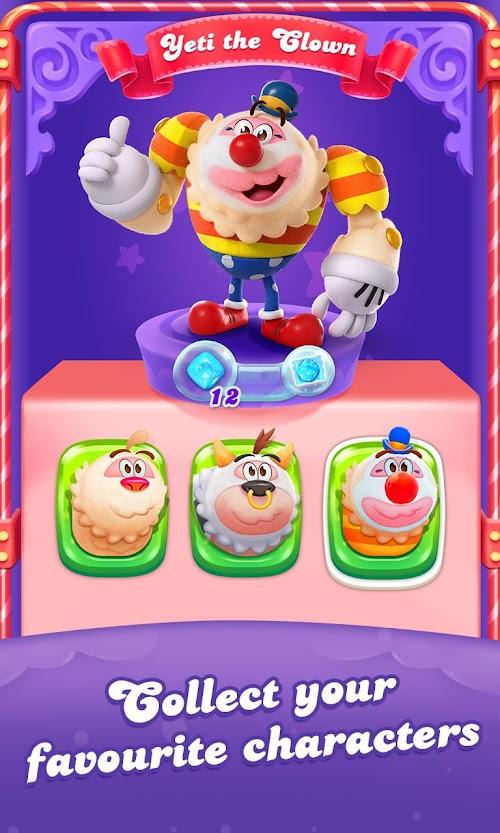 Screenshot 2 Candy Crush Friends Saga 1.10.10 APK MOD