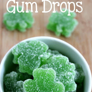 Homemade Gum Drops - St. Patrick's Day Treat.
