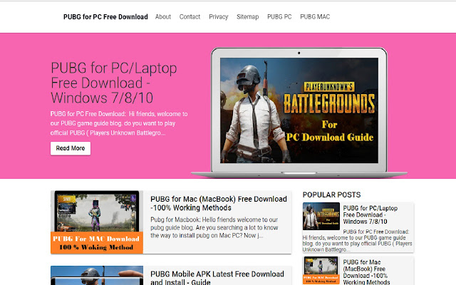 PUBG for PC-Game Guide