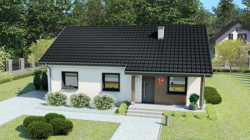 projekt Dom przy Bukowej 14