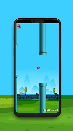 Flappy Wings: The Funny Flying Bird Game apkdebit screenshots 3
