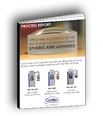 Enhance speed and accuracy when manufacturing spheres and aspheres