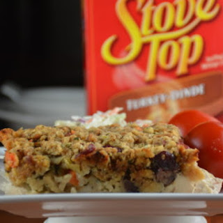 Chicken and Stuffing Oven Bake Recipe