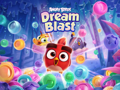 Angry Birds Dream Blast - Toon Bird Bubble Puzzle apkslow screenshots 10