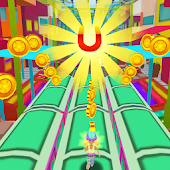 Rush Runner Train Surf 3D