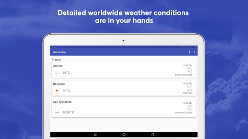 Today's Weather - Local Weather Forecast Channel 1.4 screenshots 9