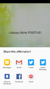 Unique Daily Affirmations- screenshot thumbnail