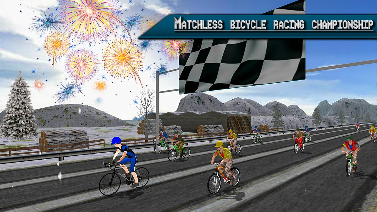 Extreme Bicycle racing 2017- screenshot