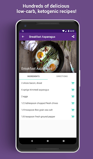 Screenshot for Lazy Keto - Easy Low Carb Ketogenic Diet Recipes in United States Play Store