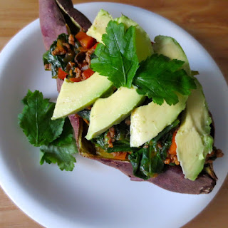 Paleo Taco-Stuffed Sweet Potato