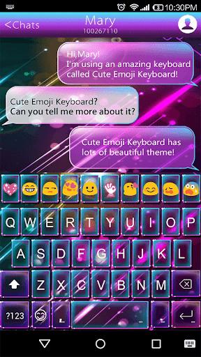 Happy Emoji Keyboard Theme
