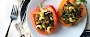 Moroccan-Spiced Lentil Stuffed Peppers