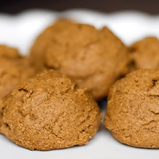 Festive Protein Gingerbread Cookies.