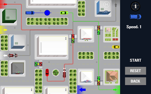 Traffic Control Puzzle - City Driving apkpoly screenshots 9