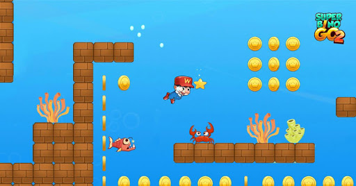 Super Bino Go 2 - Classic Adventure Platformer apkslow screenshots 2