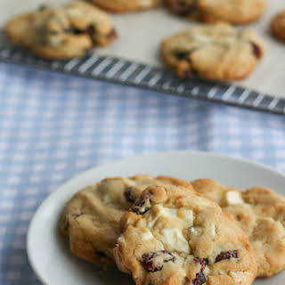 Cranberry & White Chocolate Brown Butter Cookies.