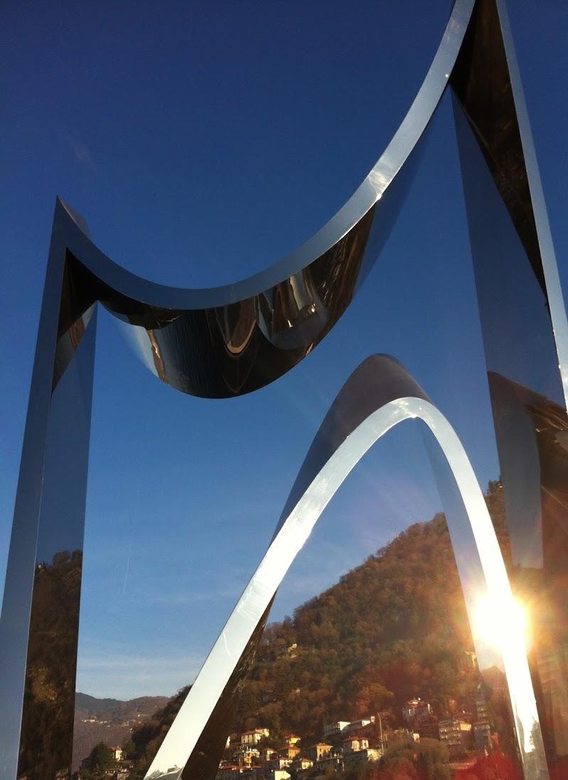 MMonumento Alessandro Volta, Libeskind, Como di gretaB