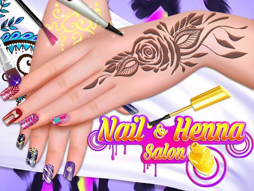 Henna's Nail Beauty SPA Salon - Games for Girls 1.0 screenshots 1