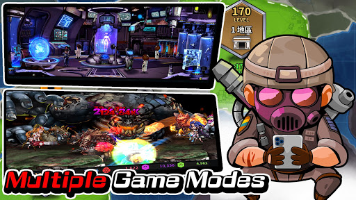 Merge Zombie: idle RPG 1.6.2 screenshots 14