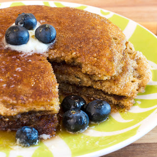 Easy Blender Whole Wheat Pancakes