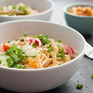 Easy Kimchi Noodles Recipe