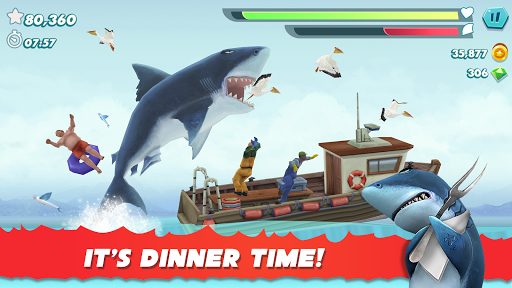 Hungry Shark Evolution apktram screenshots 1