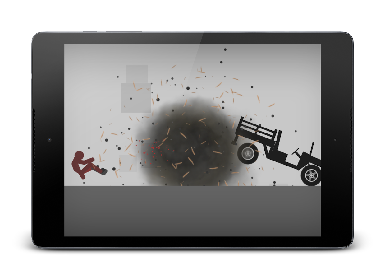 Stickman Dismounting – Capture d'écran
