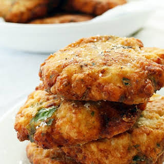 Baked Cauliflower Fritters Recipes.