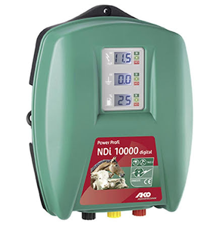 Elstängselaggregat AKO Power Profi NDi 10000 Digital * - 230 Volt
