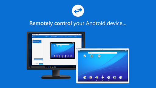 Screenshot for TeamViewer QuickSupport in United States Play Store