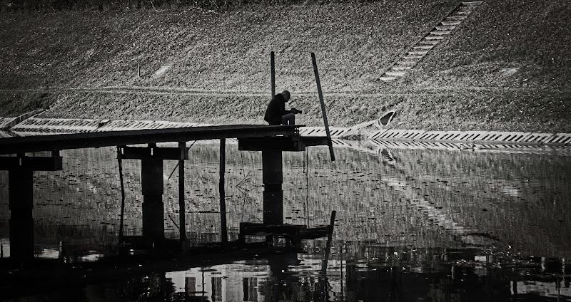 Il fotografo sul pontile. di Franco62