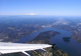 Photo: Mt Rainier Plane View