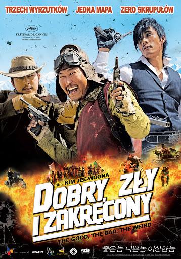 Polski plakat filmu 'Dobry, Zły i Zakręcony'