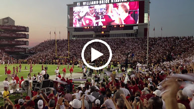 Video: Video of teams taking the field.