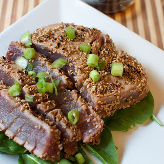 Sesame Seared Ahi Tuna.