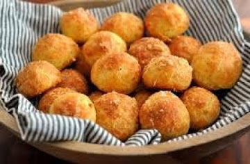 Truffle Butter Gougeres- Cheese Puffs Recipe