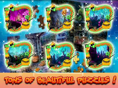 Jigsaw Puzzles Adventures Mystery Halloween Games Screenshot