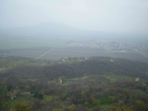 Photo: Ha jó a monitorod láthatod a Szent György-hegyet is.Nem tehetek róla,ma ennyit lehetett látni.:)