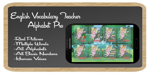 Alphabet Pro:VocabularyTeacher
