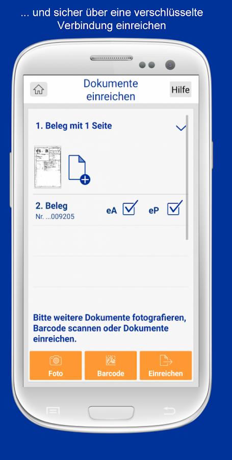 signal iduna rechnungsapp android apps auf google play. Black Bedroom Furniture Sets. Home Design Ideas