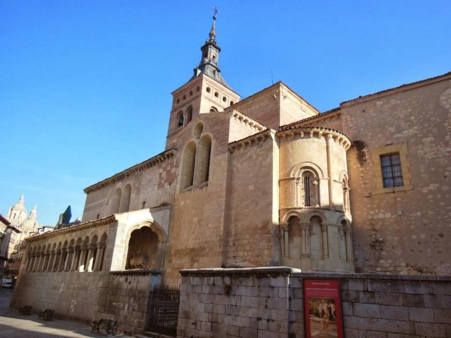 Iglesia de San Martín en Segovia