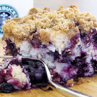 Blueberry Crumble Coffee Cake.